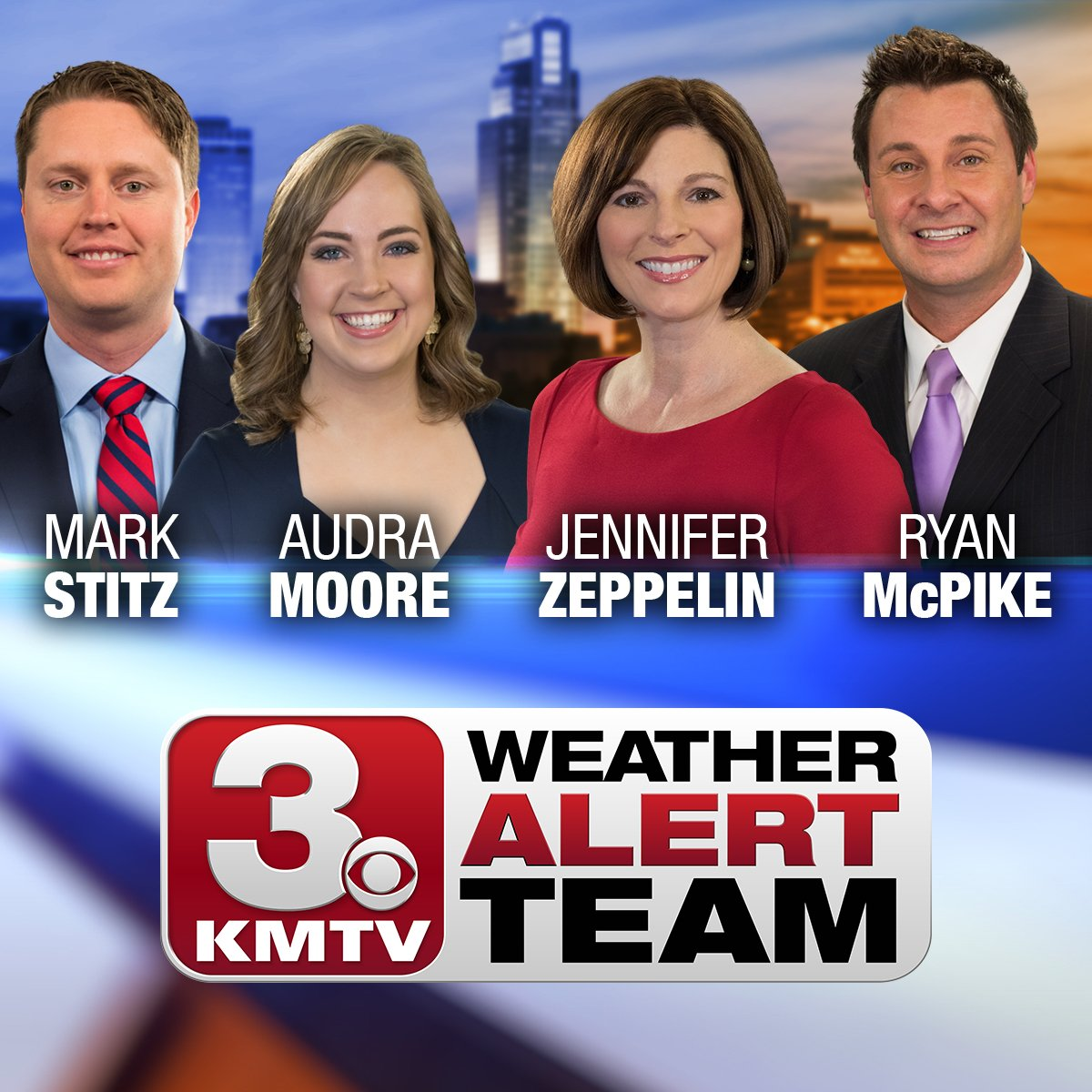KMTV weathercasters